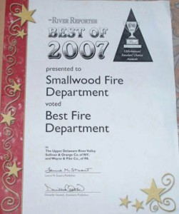 2007 Best Fire Company